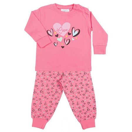 Fun2Wear Fun2Wear Heart Pink Pyjama