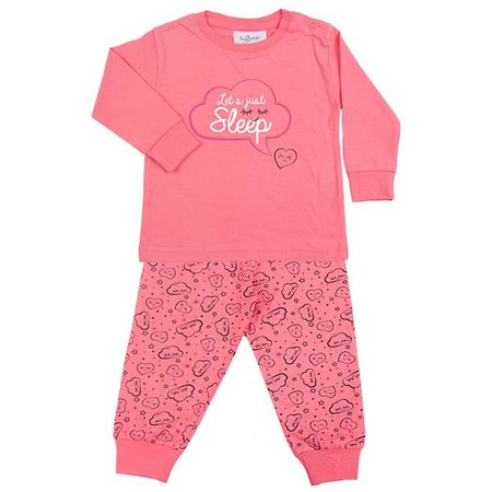 Fun2Wear Fun2Wear Let's Sleep Pyjama Camelia Rose
