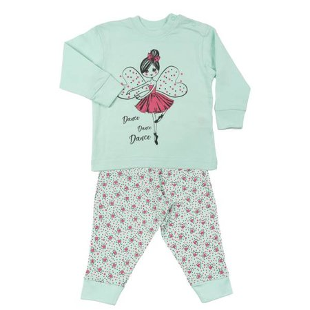 Fun2Wear Fun2Wear Dance Princess Pyjama Green
