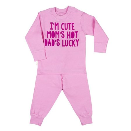 Frogs and Dogs Frogs and Dogs Mini Me Pyjama Pink