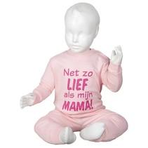 Net zo lief als mama Pyjama Pink Light