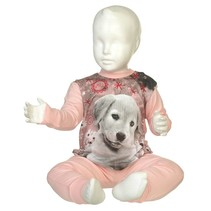 Puppy Pyjama Pink