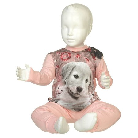 Fun2Wear Fun2Wear Puppy Pyjama Pink