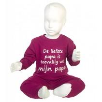De Liefste Papa Pyjama Raspberry