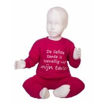 De Liefste Tante Pyjama Pink