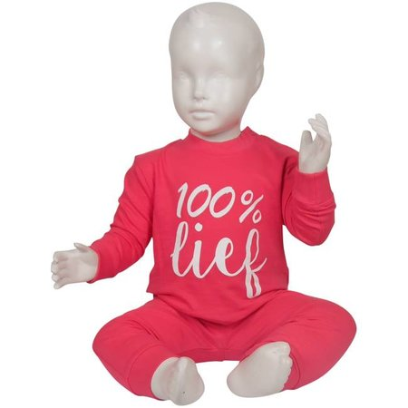 Fun2Wear Fun2Wear 100% Lief Pyjama Pink