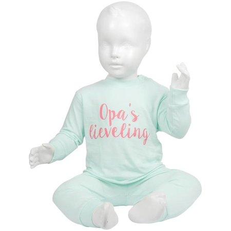 Fun2Wear Fun2Wear Opa's Lieveling Pyjama Mint