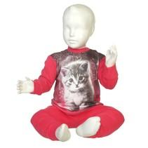 Kitten Pyjama Fuchsia