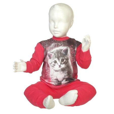 Fun2Wear Fun2Wear Kitten Pyjama Fuchsia