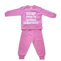 Opa mag ik komen logeren Pyjama Roze