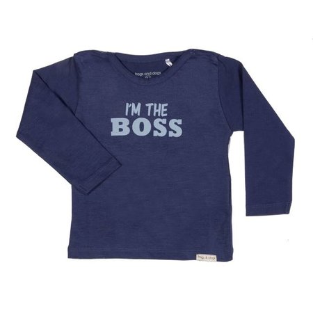 Frogs and Dogs Frogs and dogs baby T-Shirt Boss navy
