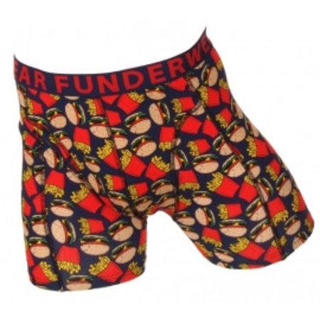 Fun2Wear Funderwear Jongens Boxershort Fast Food