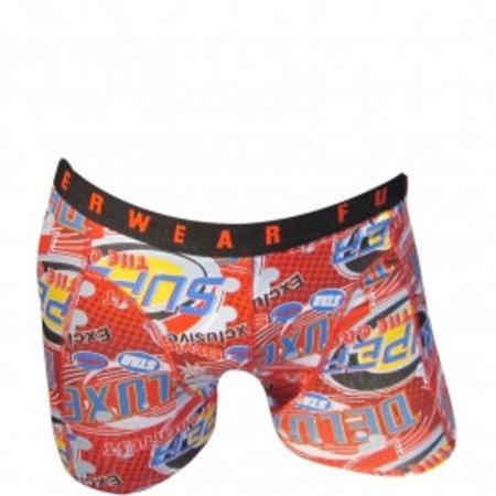 Fun2Wear Funderwear Jongens Boxershort Super Red