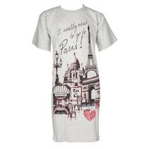 Bigshirt Paris Grey