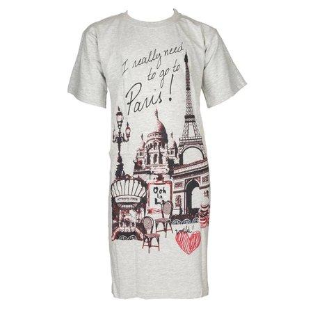 Fun2Wear Fun2Wear Bigshirt Paris Grey