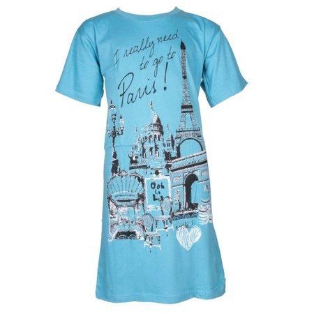 Fun2Wear fun2wear Bigshirt Paris Blue