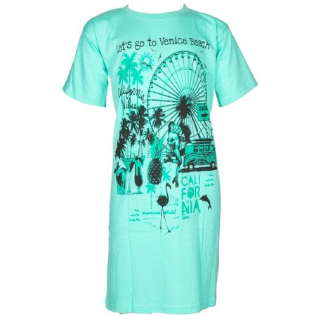 Fun2Wear fun2wear Bigshirt Venice Green