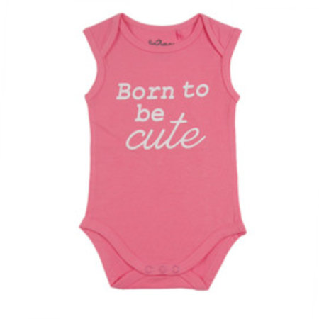 Fun2Wear Fun2Wear Romper Born To Be Cute Roze
