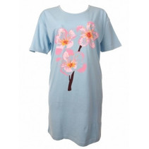 Bigshirt Flower Blue