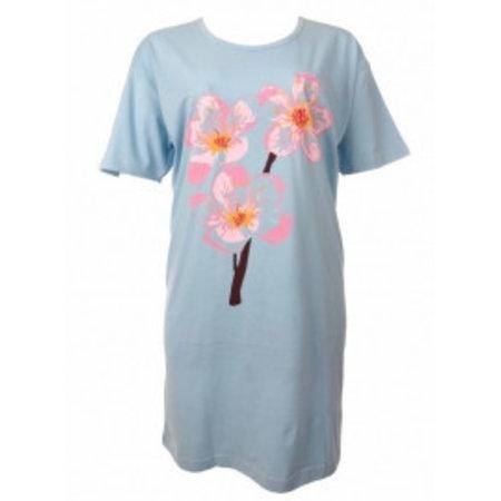 Funderwear Funderwear Bigshirt Flower Blue