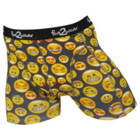 Fun2Wear Fun2wear boxershort Smiley