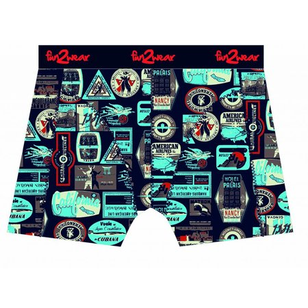 Fun2Wear Fun2Wear Boxershort Suitcase Navy