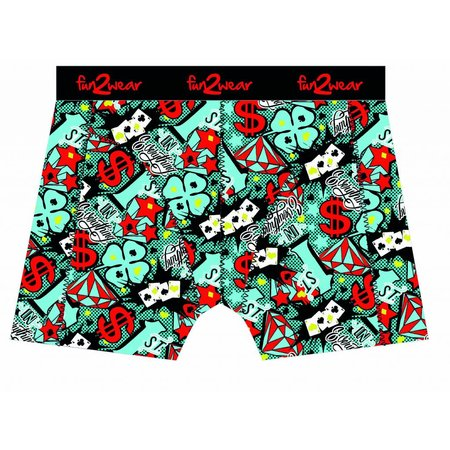 Fun2Wear Fun2Wear Boxershort Lucky day