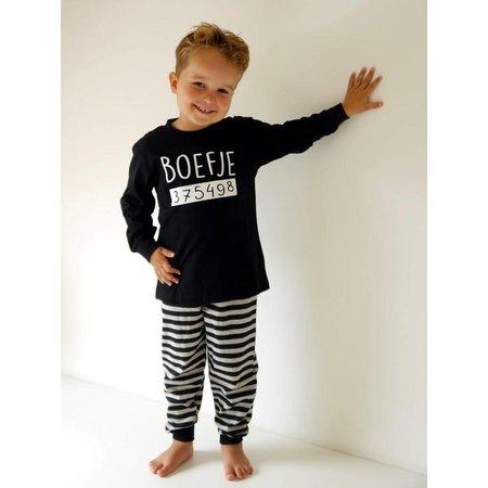 Fun2Wear Fun2Wear Boefje Pyjama Nieuw Zwart