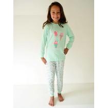 Ice Cream Pyjama Green