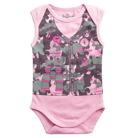Fun2Wear Fun2WearBootcamp Romper Roze