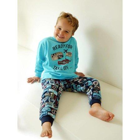 Fun2Wear Fun2Wear Suitcase pyjama Aqua