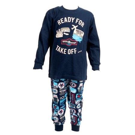 Fun2Wear Fun2Wear Suitcase pyjama Twilight blue