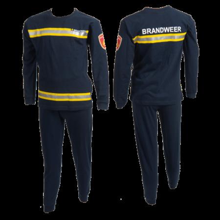Fun2Wear Fun2Wear Brandweer Pyjama Navy
