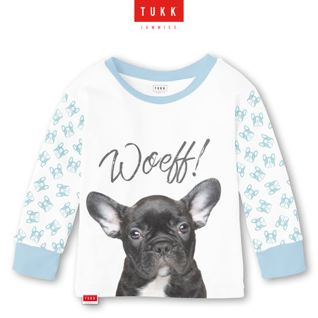 Tukk Tukk jammies honden kinderpyjama