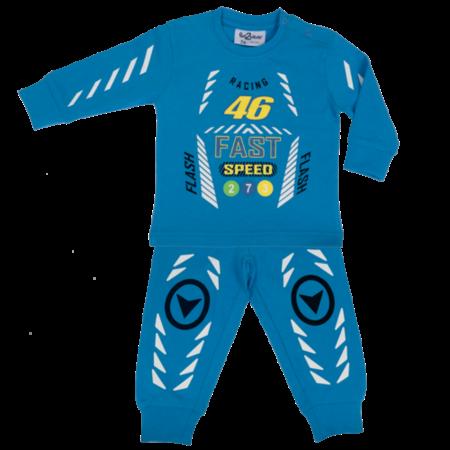 Fun2Wear Fun2Wear Racing Pyjama licht blauw