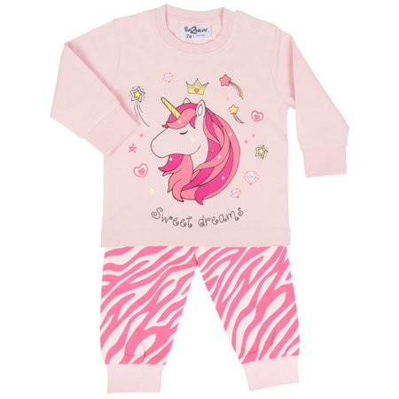 Fun2Wear Fun2Wear sweet unicorn licht roze