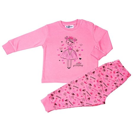 fun2wear Fun2wear Sweet Prinses dark Pink