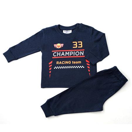 Fun2Wear Fun2Wear Champion Formule 1 pyjama donkerblauw