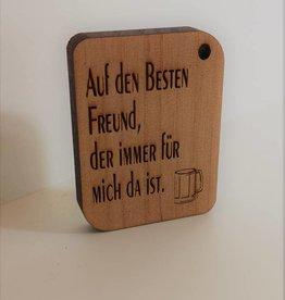 """Schlüsselanhänger """"Beste Freunde"""" mit Gravur"""