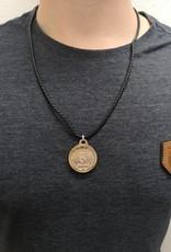 Halskette mit Sternzeichen und Namens Gravur