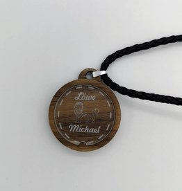 Necklace with star sign