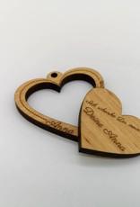 Wahre Liebe verschenken mit unserem Schlüsselanhänger mit Gravur!