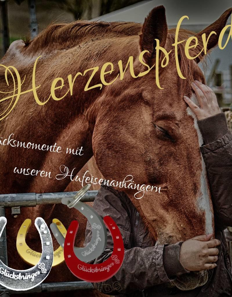 Pferdemarke aus Acrylglas mit Gravur - Das Original!