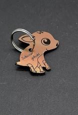 Wähle deine Lieblingsgravur mithilfe unseres Produktkonfigurator für deinen persönlichen Schlüsselanhänger mit Gravur!