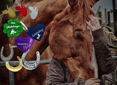 Pferdemarken mit Gravur