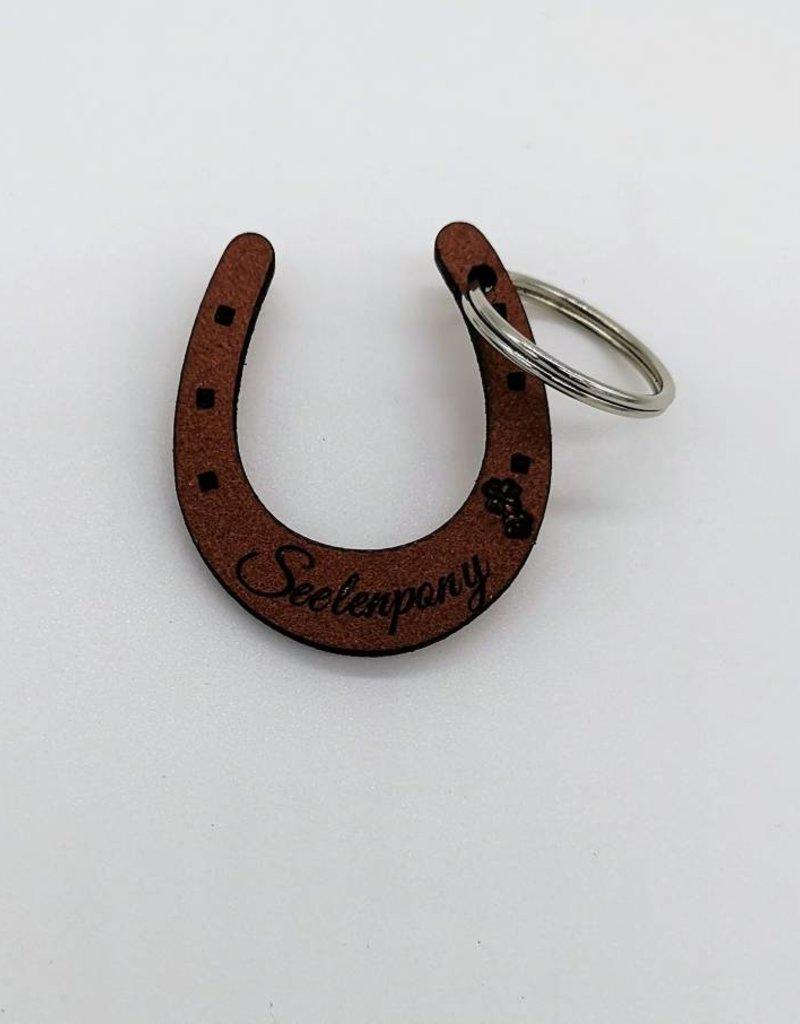 Die Pferdemarke im Hufeisen Design - Das Original! - Jetzt auch aus Leder!