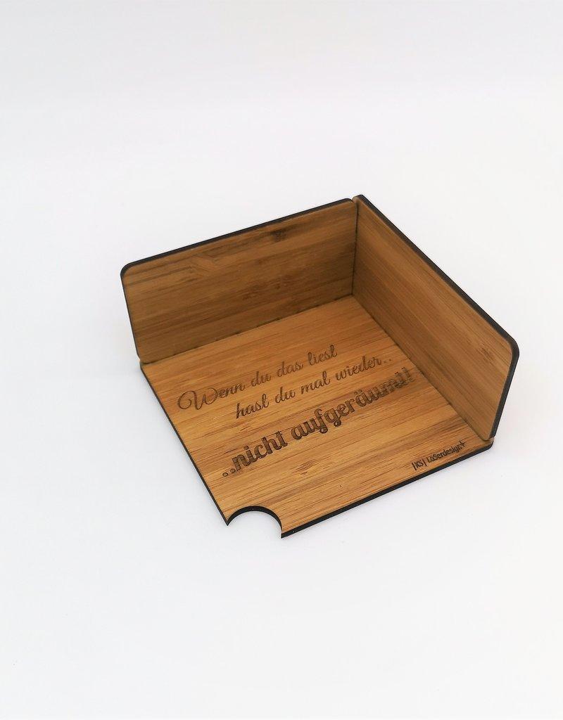 Die moderne Aufbewahrungsbox für Schieferuntersetzer bewahrt für dich die Ordnung!