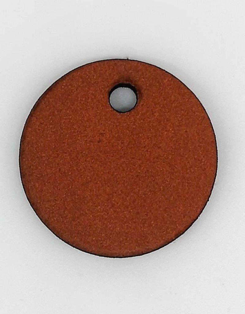 Der Schlüsselanhänger Ronde aus Leder mit Gravur personalisierbar nach Wunsch!