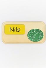 Personalisiere das Türschild mit verschiedenen wählbaren Motiven für Jungs und Wunschname!