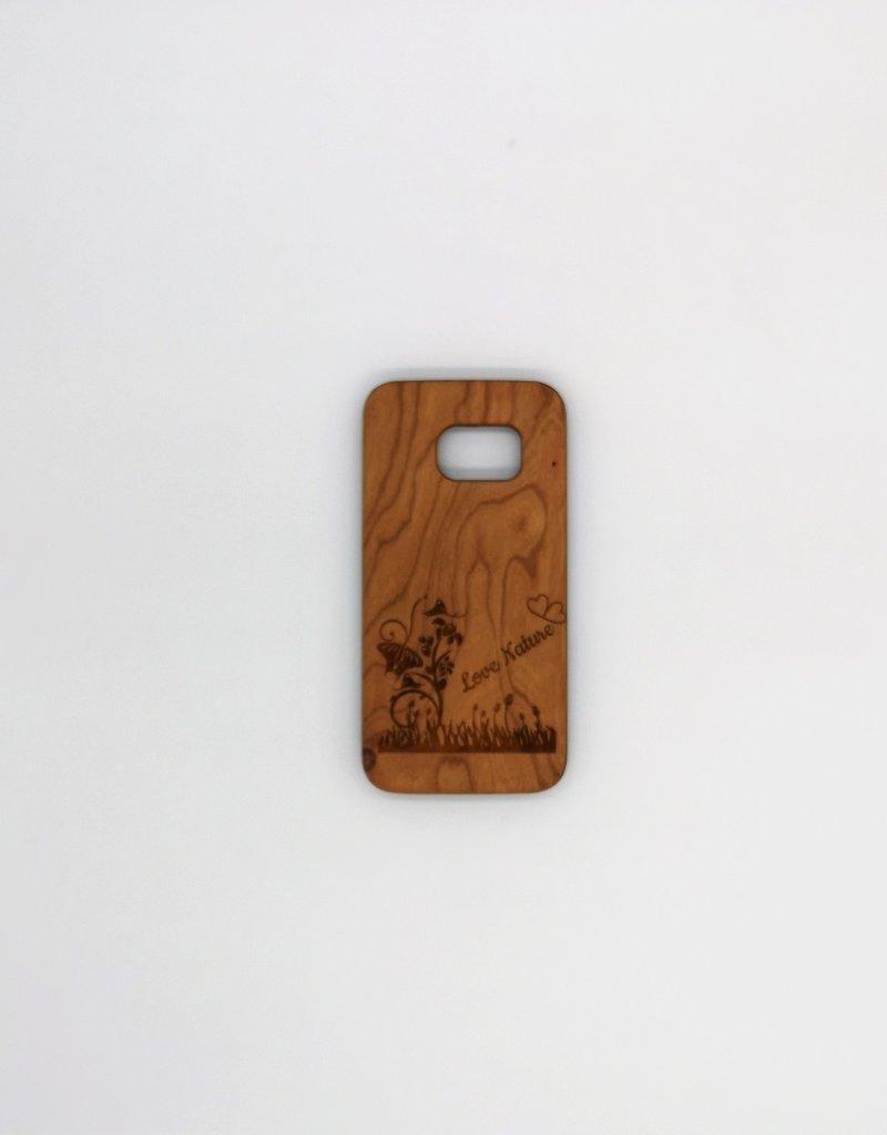 Gestalte Deine Samsung Handyhülle aus Holz mit Gravur nach deinen Wünschen!